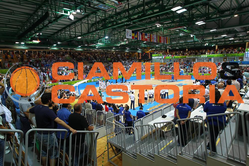DESCRIZIONE : Koper Slovenia<br /> Eurobasket Men 2013 Preliminary Round Russia Italia Russia Italy<br /> GIOCATORE : Bonifika Arena Koper<br /> CATEGORIA : curiosita<br /> SQUADRA : Slovenia<br /> EVENTO : Eurobasket Men 2013<br /> GARA : Russia Italia Russia Italy<br /> DATA : 04/09/2013 <br /> SPORT : Pallacanestro <br /> AUTORE : Agenzia Ciamillo-Castoria/ElioCastoria<br /> Galleria : Eurobasket Men 2013<br /> Fotonotizia : Koper Slovenia<br /> Eurobasket Men 2013 Preliminary Round Russia Italia Russia Italy<br /> Predefinita :