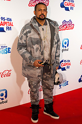 © Licensed to London News Pictures. 03/12/2016. SEAN PAUL attends Capital's Jingle Bell Ball with Coca-Cola at London's O2 Arena London, UK. Photo credit: Ray Tang/LNP