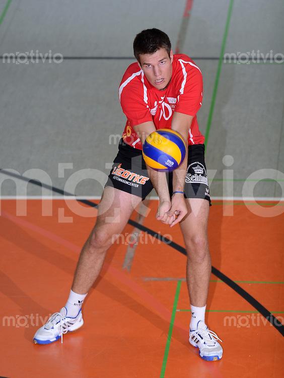 Volleyball 1. Bundesliga  Saison  2012/2013  05.09.2012 TV Rottenburg  - SV Fellbach Nico Zager (TV Rottenburg)