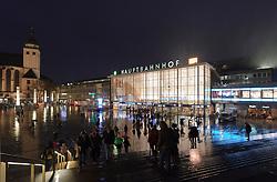 Cologne, Germany, Jan. 2012 -  The Koln HBF - Central train station in Cologne, Germany. (Photo © Jock Fistick).