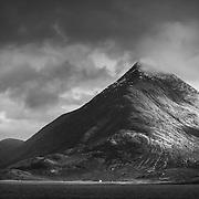 Blà Bheinn from Loch Scavaig, Isle of Skye