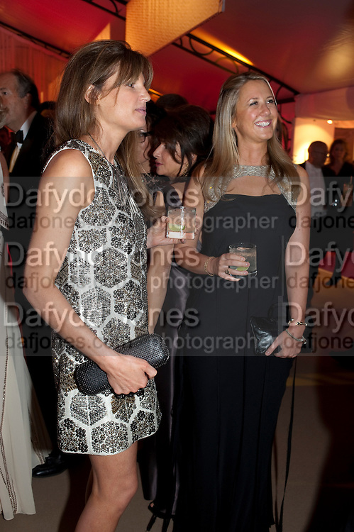 JEMIMA KHAN; ALICE BRUDENELL BRUCE, Evgeny Lebedev and Graydon Carter hosted the Raisa Gorbachev charity Foundation Gala, Stud House, Hampton Court, London. 22 September 2011. <br /> <br />  , -DO NOT ARCHIVE-© Copyright Photograph by Dafydd Jones. 248 Clapham Rd. London SW9 0PZ. Tel 0207 820 0771. www.dafjones.com.