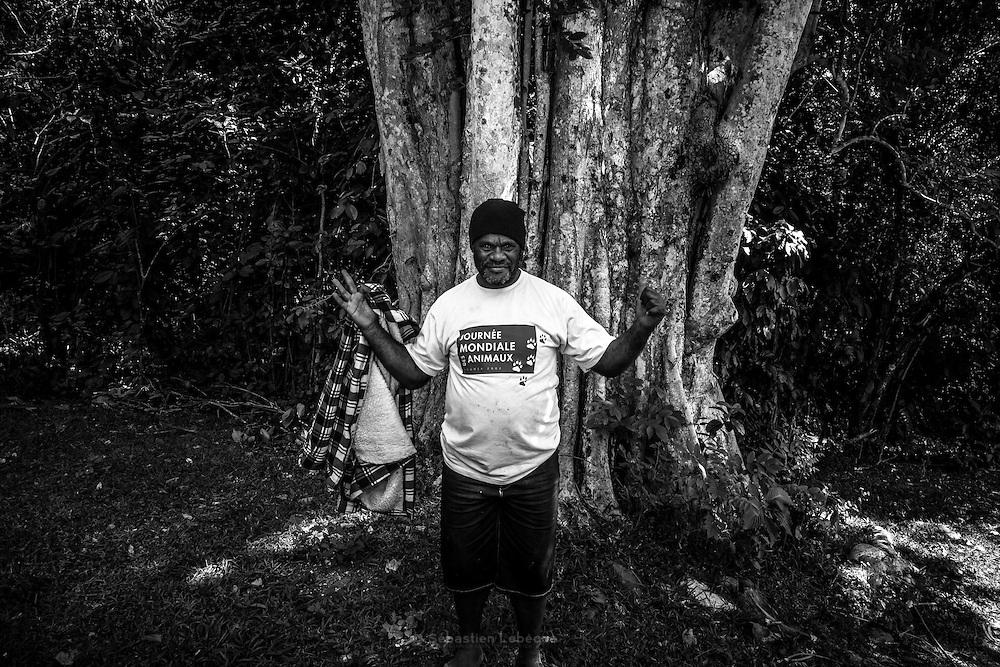 NOUVELLE CALEDONIE, HIENGHENE, Tiendanite - Aout 2013  - portrait - Clan Couhia