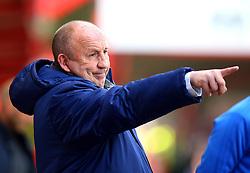Accrington Stanley manager John Coleman - Mandatory by-line: Robbie Stephenson/JMP - 14/04/2018 - FOOTBALL - Wham Stadium - Accrington, England - Accrington Stanley v Exeter City - Sky Bet League Two