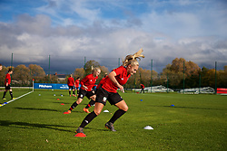 NEWPORT, WALES - Tuesday, November 6, 2018: Wales' Charlie Estcourt during a training session at Dragon Park ahead of two games against Portugal. (Pic by Paul Greenwood/Propaganda)