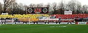 n/z.: Kibice LKS podczas meczu ligowego Legia Warszawa - LKS Lodz , I liga 19 kolejka sezon 2006/2007, Orange Ekstraklasa , pilka nozna , Polska , Warszawa , 01-04-2007 , fot.: Adam Nurkiewicz / mediasport..LKS's supporters during soccer first division league match between Legia Warsaw and LKS Lodz in Warsaw, Poland. April 01, 2007 ; 19 round season 2006/2007 , football , Poland , Warsaw ( Photo by Adam Nurkiewicz / mediasport )