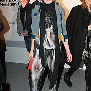NLD/Amsterdam/20100130 - Amsterdam fashion Week 2010, inloop modeshow, Michael.Barnaart van Bergen, Kim Vos