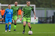 Forest Green Rovers Carl Winchester(7) on the ball during the The FA Cup match between Forest Green Rovers and Billericay Town at the New Lawn, Forest Green, United Kingdom on 9 November 2019.