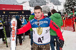 25.01.2014, Streif, Kitzbuehel, AUT, FIS Ski Weltcup, Kitz Charity Trophy, im Bild Volks-Rock´n Roller Andreas Gabalier // during the Kitz Charity Trophy of Kitzbuehel FIS Ski Alpine World Cup at the Streif Course in Kitzbuehel, Austria on 2014/01/25. EXPA Pictures © 2014, PhotoCredit: EXPA/ Markus Casna