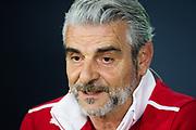 June 8-11, 2017: Canadian Grand Prix. Maurizio Arrivabene, team principal of Scuderia Ferrari