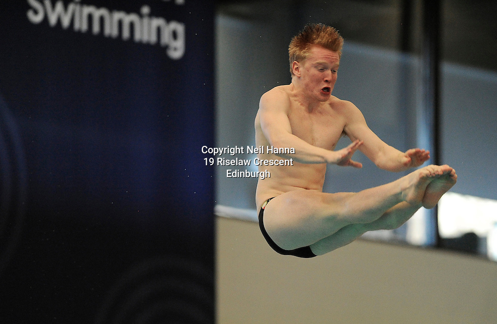 Scottish National Diving Championships &amp; Thistle Trophy 2015<br /> Royal Commonwealth Pool, Edinburgh<br /> <br /> Free to use<br /> <br /> Event 23  Mens/Boys 3M Final<br /> <br /> James Heatly from Edinburgh Diving Club  won the National Senior Title on the last day of competition.<br /> <br /> <br />  Neil Hanna Photography<br /> www.neilhannaphotography.co.uk<br /> 07702 246823