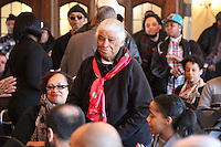 Iberia Hampton, mother of slain Black Panther Fred Hampton attended the event.