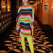NLD/Amsterdam/20120310 - Modeshow Mart Visser 2012, Monique des Bouvrie