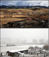 Late winter in Bozeman, MT