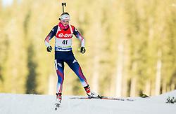 Annelies Cook of USA competes during Women 7.5 km Sprint at day 1 of IBU Biathlon World Cup 2014/2015 Pokljuka, on December 18, 2014 in Rudno polje, Pokljuka, Slovenia. Photo by Vid Ponikvar / Sportida