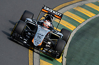 HULKENBERG nico (ger) force india vjm08 actionHULKENBERG nico (ger) force india vjm08 action during 2015 Formula 1 championship at Melbourne, Australia Grand Prix, from March 13th to 15th. Photo DPPI / Eric Vargiolu.