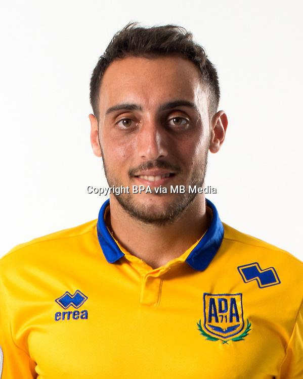 Spain - La Liga B 123 _ 2016-2017 / <br /> ( A.D. Alcorcon ) - <br /> Sergio Aguza Santiago