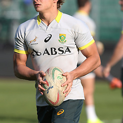 PADUA, ITALY - NOVEMBER 21: Patrick Lambie during the South African national rugby team photograph and captains run at Stadio Euganeo on November 21, 2014 in Padua, Italy. (Photo by Steve Haag/Gallo Images)