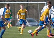 FODBOLD: Andreas O. Jensen (Ølstykke FC) under kampen i Serie 2 mellem Ølstykke FC og Humlebæk Boldklub den 6. april 2019 på Ølstykke Stadion. Foto: Claus Birch.