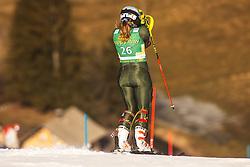 Paula Moltzan (USA) during the Ladies' Slalom at 56th Golden Fox event at Audi FIS Ski World Cup 2019/20, on February 16, 2020 in Podkoren, Kranjska Gora, Slovenia. Photo by Matic Ritonja / Sportida