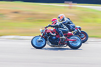 Photos from the inaugural running of the Cafe Racer Cup at Lydden Hill circuit in Kent.