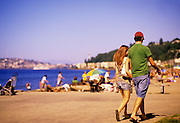 Image of Alki Beach in West Seattle, Washington, Pacific Northwest