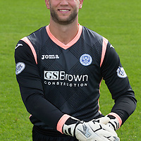 St Johnstone FC 2014-2015 Season Photocall..15.08.14<br /> Alan Mannus<br /> Picture by Graeme Hart.<br /> Copyright Perthshire Picture Agency<br /> Tel: 01738 623350  Mobile: 07990 594431