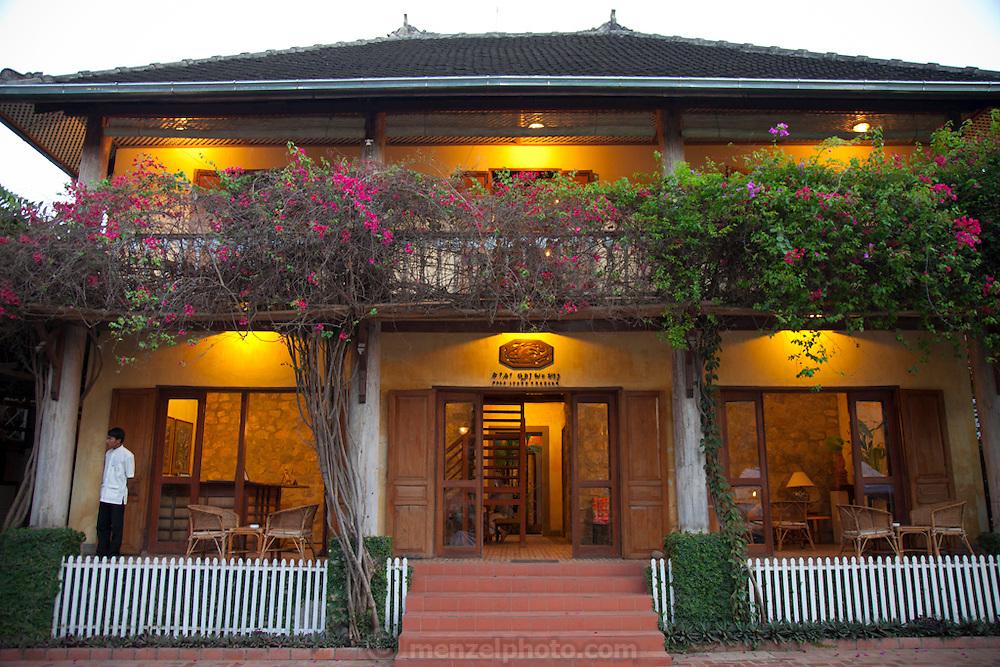 Luang Prabang, Laos. Sala Luang Prabang guest house.
