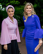 The Hague , 19-05-2017 <br /> <br /> Queen Maxima and Sheikha Mozah attend meeting protection Education in conflict situations at The Hague  Institute for Global Justice.<br /> <br /> <br /> COPYRIGHT: ROYALPORTRAITS EUROPE/ BERNARD RUEBSAMEN