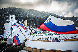 Hill during the 2nd  Round at Day 1 of World Cup Ski Jumping Ladies Ljubno 2016, on February 13, 2016 in Ljubno, Slovenia. Photo by Vid Ponikvar / Sportida