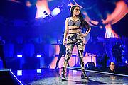 Nicki Minaj performing at the iHeartRadio Music Festival in Las Vegas, Nevada on Sepembter 20, 2014.