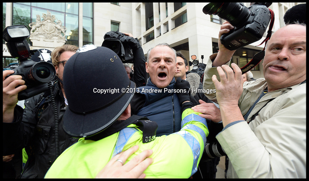 PR guru Max Clifford arrives at Westminster Magistrates' Court, London, charged with 11 indecent assaults allegedly committed between 1966 and 1985, .Tuesday, 28th May 2013.Picture by Andrew Parsons / i-Images
