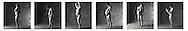 series of nude pregnancy images every 6 weeks