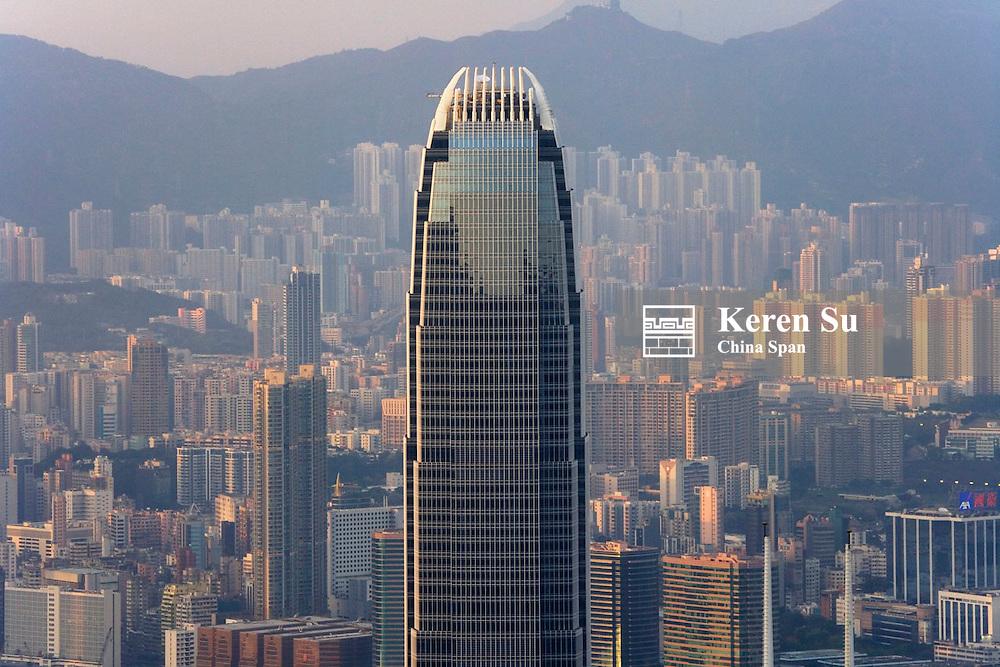 Highrises including IFC2, Hong Kong, China