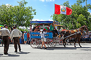 Horse and cart in Holguin, Cuba.