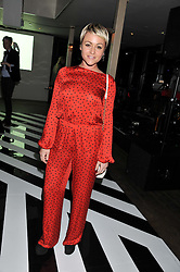 JAIME WINSTONE at the InStyle Best of British Talent Event in association with Lancôme and Avenue 32 held at The Rooftop Restaurant, Shoreditch House, Ebor Street, London E1 on 30th January 2013.