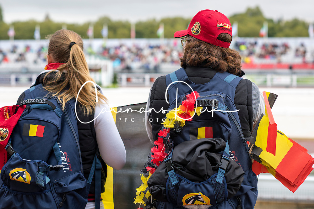 Supporter Team Bel - Individual Test Grade IV Para Dressage - Alltech FEI World Equestrian Games™ 2014 - Normandy, France.<br /> © Hippo Foto Team - Jon Stroud <br /> 25/06/14