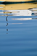 Reflections on Lake Macquarie, NSW, Australia