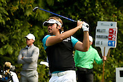 French golf professional Victor Dubuisson at the BMW PGA Championship at the Wentworth Club, Virginia Water, United Kingdom on 27 May 2016. Photo by Simon Davies.