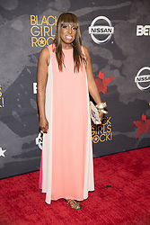 August 6, 2017 - New Jersey, U.S - MIKKI TAYLOR, at the Black Girls Rock 2017 red carpet. Black Girls Rock 2017 was held at the New Jersey Performing Arts Center in Newark New Jersey. (Credit Image: © Ricky Fitchett via ZUMA Wire)