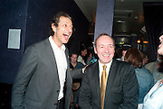 JEFF GOLDBLUM; KEVIN SPACEY, The Old Vic at the Vaudeville Theatre ' The Prisoner of Second Avenue'  press night. After-party at Jewel. 13 July 2010. -DO NOT ARCHIVE-© Copyright Photograph by Dafydd Jones. 248 Clapham Rd. London SW9 0PZ. Tel 0207 820 0771. www.dafjones.com.