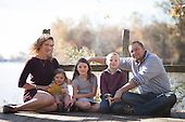 Fall Family Pictures/Family Photos: Bristol River Side Family Photo Session