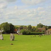 Avebury Village Neolithic Stones - Avebury, UK