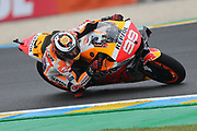 #99 Jorge Lorenzo, Spanish: Repsol Honda Team during the MotoGP Grand Prix de France at the Bugatti Circuit at Le Mans, Le Mans, France on 18 May 2019.