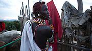 4 May 2010, Samburu, Maralal and Kisima, northern Kenya. Samburu moran gather for the wedding of Japron Lenguris (49)