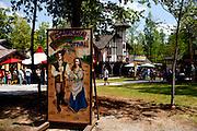 The Georgia Renaissance Festival in Fairburn, Georgia, April 17, 2010.