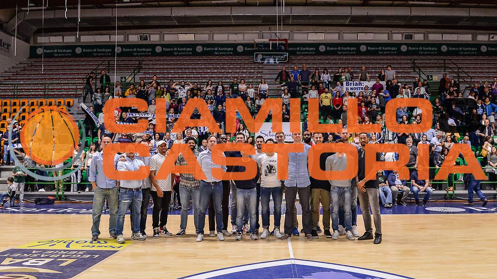 Team Banco di Sardegna Dinamo Sassari<br /> Saluti Finali Banco di Sardegna Dinamo Sassari<br /> Legabasket Serie A LBA Poste Mobile 2016/2017<br /> Sassari 18/05/2017<br /> Foto Ciamillo-Castoria
