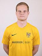 FODBOLD: Stefan Fjeldsted Jensen ved Ølstykke FC's officielle fotosession den 27. marts 2018 på Ølstykke Stadion. Foto: Claus Birch