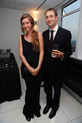 BEN & KATE GOLDSMITH at The Reuben Foundation and Virgin Unite Haiti Fundraising dinner held at Altitude 360 in Millbank Tower, London on 26th May 2010.