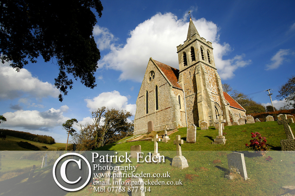 RNLI, Lifeboat, St Mary the Virgin, Church, on the hill, Brook, Isle of Wight, England, UK, Great Britain Photographs of the Isle of Wight by photographer Patrick Eden photography photograph canvas canvases
